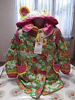 Курточка/плащ для девочки с рюкзачком