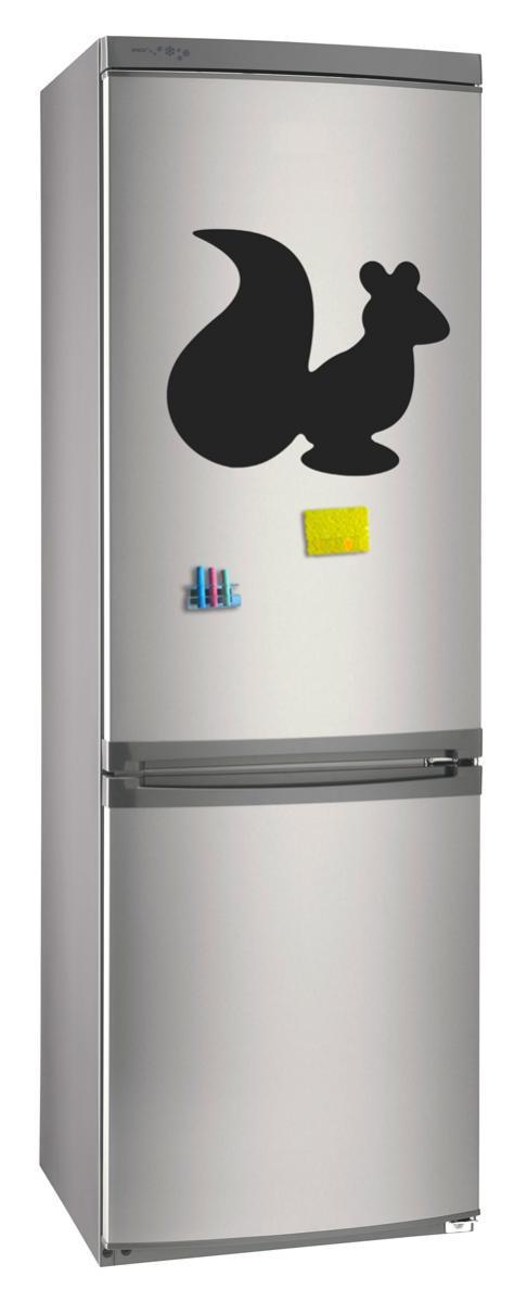 Магнитно-грифельная (меловая) доска на холодильник для записей и рисования мелом Белка размер 30х42 см