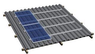 Комплекты креплений солнечных батарей