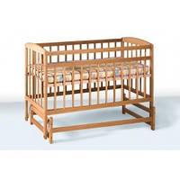 Детская Кровать ВЕСЕЛКА 120х60 бук (Гойдалка)