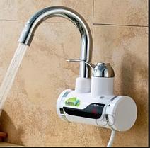 Мгновенный нагреватель проточный воды KAITER (для кухни (душа), боковая подводка)
