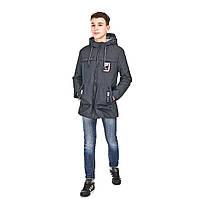 Демисезонная куртка на мальчика 140, 146р весенняя 8887