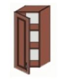Кухня Юля 400 В 1Д ЛВ вишня коньяк оксамит (НОВА)
