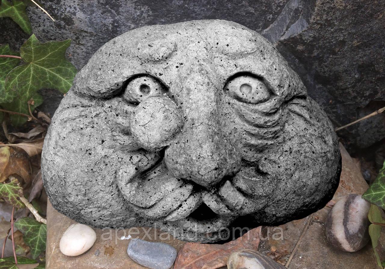 Камени с человеческим лицом, декор для сада, комплект 3 шт