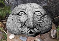 Камени с человеческим лицом, декор для сада, комплект 3 шт, фото 1