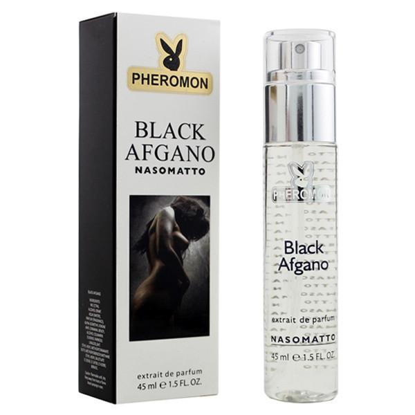 мини парфюм унисекс Nasomatto Black Afgano Pheromon 45 мл реплика