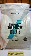 Протеин, Myprotein Impact Whey Isolate 1000г