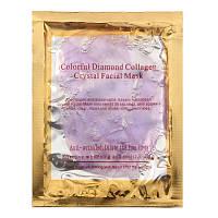 Коллагеновая маска для лица Diamond Collagen Facial Mask Purple