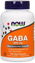 Стимуляция ЦНС NOW Foods США GABA 500 mg 100 caps