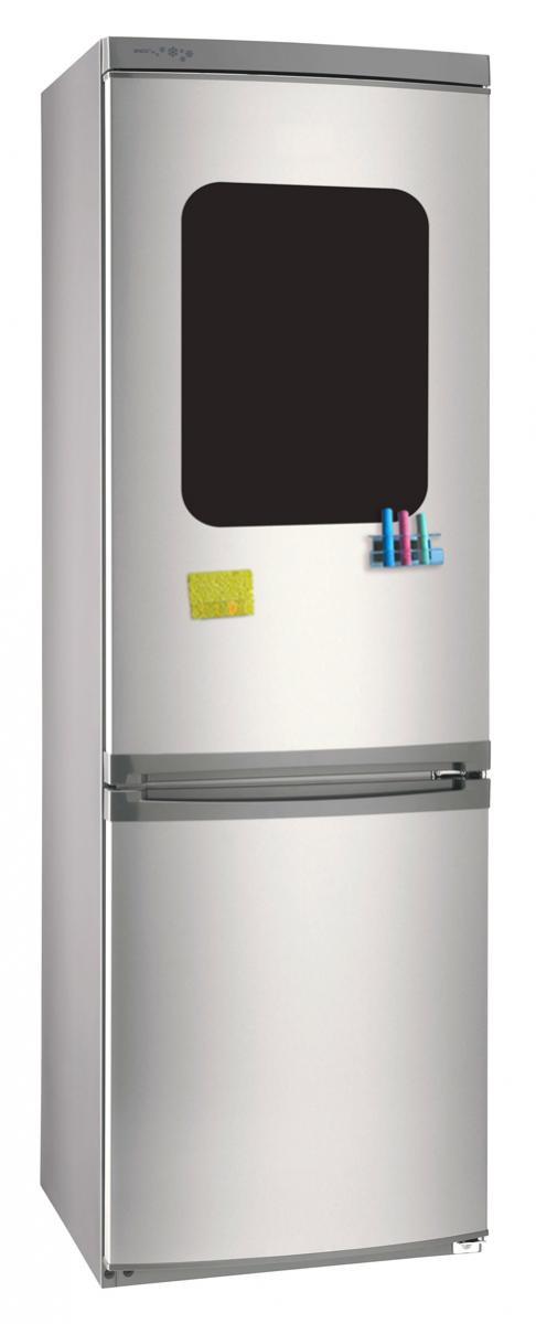 Магнитно-грифельная (меловая) доска на холодильник для записей и рисования мелом Простое общение размер 30х42