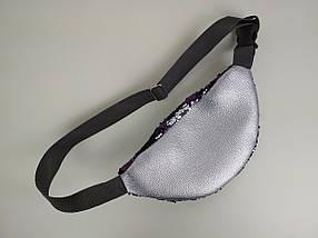 Женская поясная сумка с пайетками, фото 2