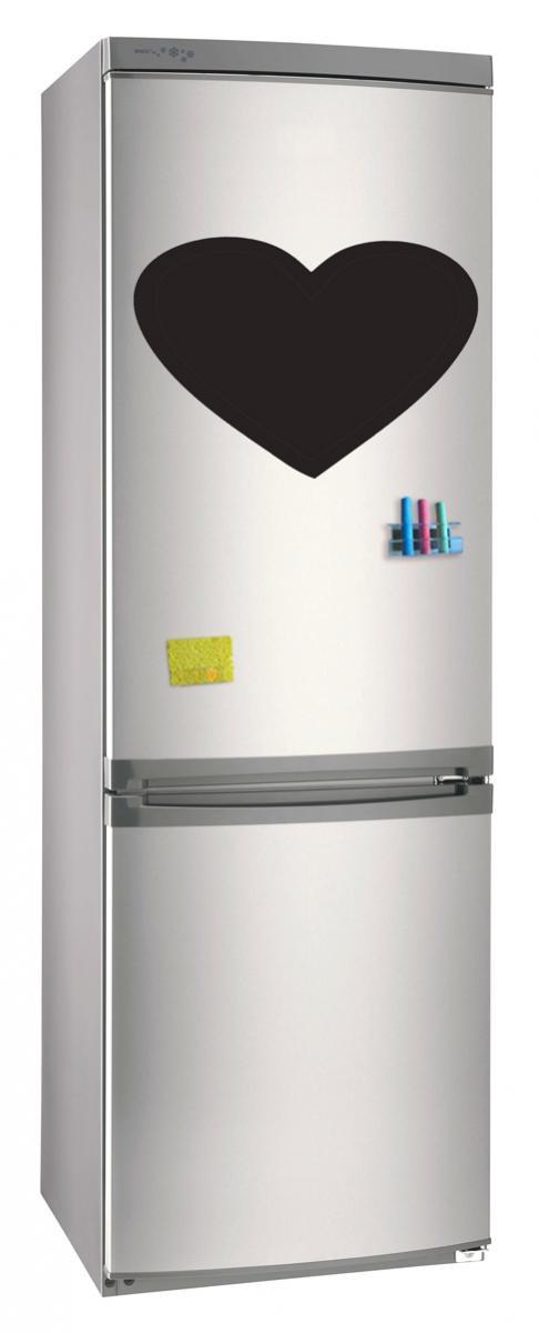Магнитно-грифельная (меловая) доска на холодильник для записей и рисования мелом Серде размер 30х42 см
