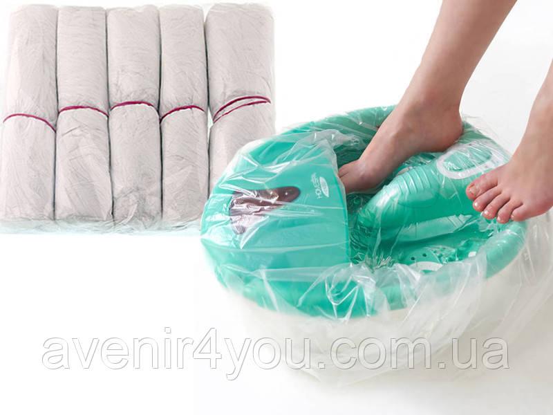 Чехол на ванночку для педикюра 80х100см (50 шт) С резинкой