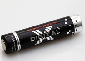 Батарейки X-DIGITAL LR03(2SH) 1x2 шт