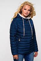 Красивая женская куртка стеганная утепленная весна-осень