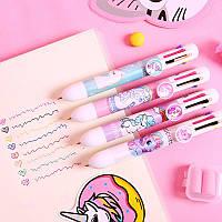 Ручка с Единорогом на 8 цветов