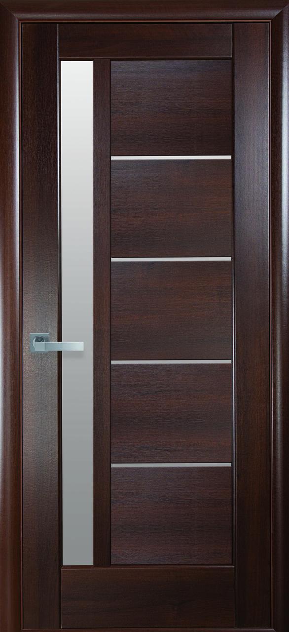 Дверное полотно Грета со стеклом сатин