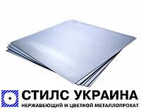 Лист нержавеющий 10х1000х2000мм АiSi 321 (08Х18Н10Т) пищевой, матовый