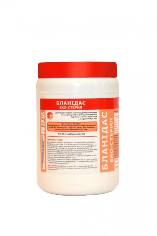 Средство дезинфекции Бланидас эко-стерил - 1 кг., 5 кг.