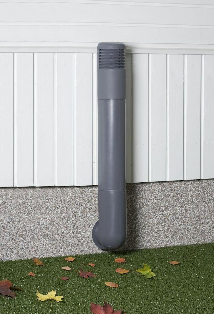 Вентиляция подвала и цоколя. Дефлектор VILPE® ROSS