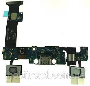 Разъем зарядки Samsung G928/S6 Edge+ complete with flat and headset Original