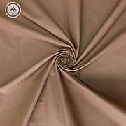 Польская хлопковая ткань коричневая 160 см