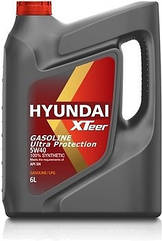 Масло ДВС 5W-40, 6л, синт, бенз, Ultra Protection, XTeer Hyundai