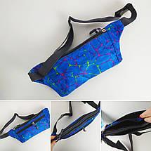 Женская текстильная поясная сумка , фото 2