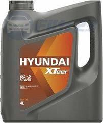 Масло трансмисс. 80W-90, 4л, синт, GL-5, Xteer Hyundai