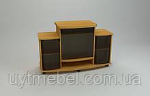 Тумба ТВ Трио-2 вільха (Компаніт)