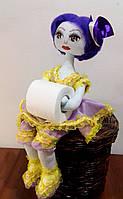 Кукла держатель туалетной бумаги