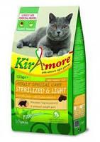 Корм КІРАМОРЕ Adult S.Care Sterilized д/котів (стерилізованих) Курка та рис 15 кг