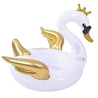 Надувной матрас Modarina королевский Лебедь 150 см Белый NW3011