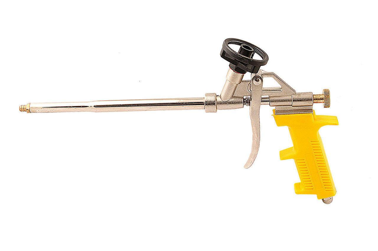 Пистолет для пены Mastertool - 330 мм тефлон держатель баллона, игла (81-8676)