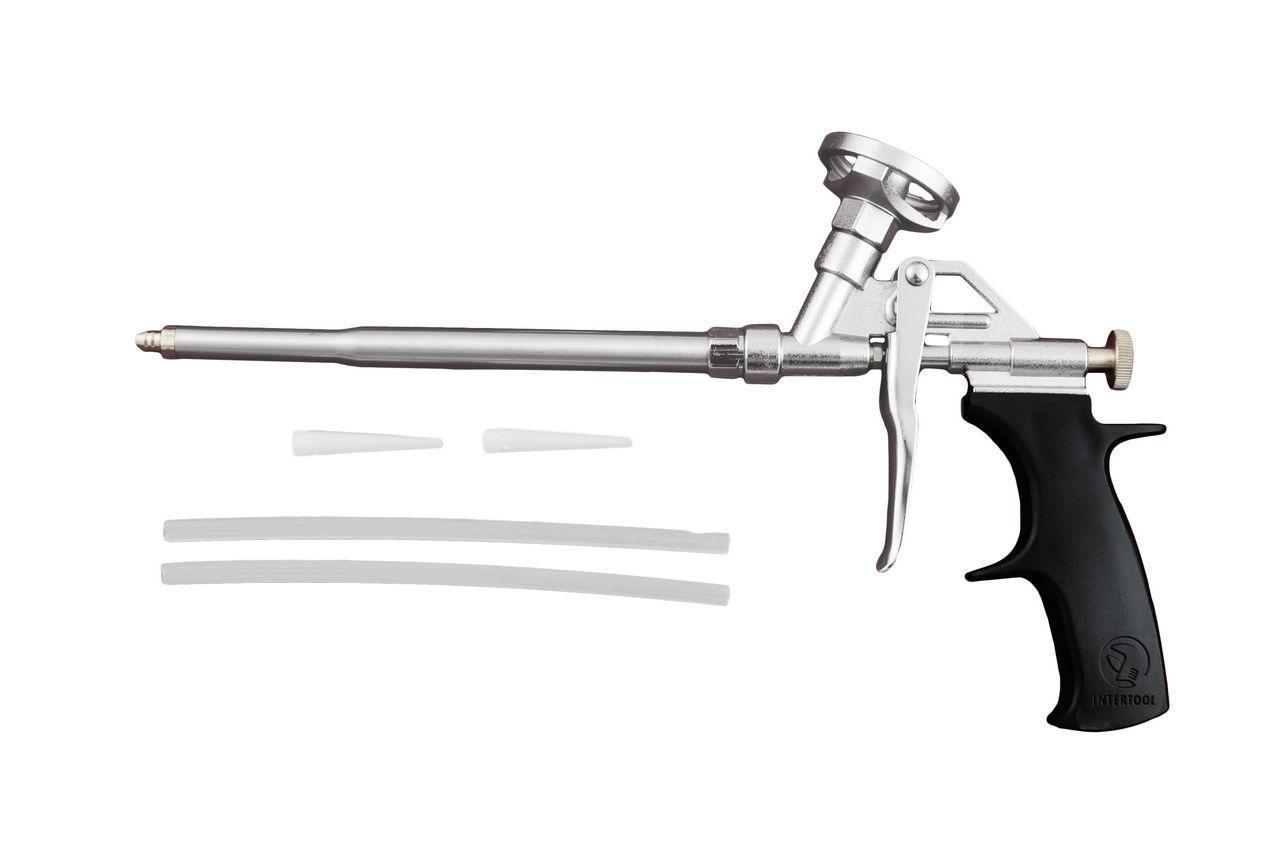 Пистолет для пены Intertool - никель
