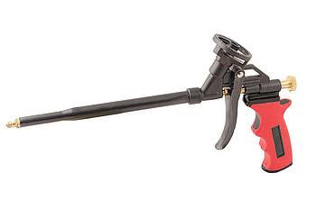 Пістолет для піни Mastertool - з тефлоновим покриттям тримач балона, трубка, голка