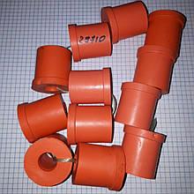 Втулки ресорні комплект 12шт ГАЗ Волга 24 2410 причіп 13-2912028 поліуретан 36мм