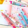 Ручка с Фламинго на 8 цветов, фото 3