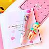 Ручка с Фламинго на 8 цветов, фото 4