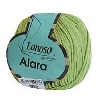 Пряжа Lanoso Alara 919 для ручного вязания