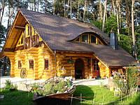 Деревянные дома в сруб из бревна и бруса. Строительство и проектирование в Киеве