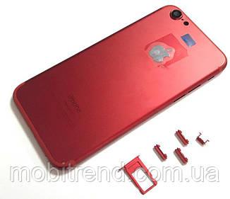 Крышка задняя iPhone 6S (4,7'') подобно 7 Red