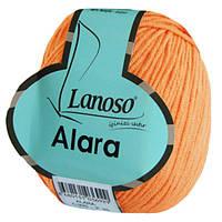 Пряжа Lanoso Alara 935 для ручного вязания