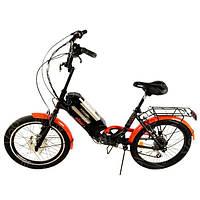 Электровелосипед SMART20-XF07/900 Люкс 350W/36V (литиевый аккумулятор 36V), фото 1