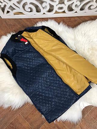 Элегантная женская жилетка из синтепона на подкладке 48, 50  размер батал, фото 2