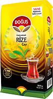 Турецкий чай чёрный мелколистовой рассыпной 500 г Dogus Rize Turist Çay
