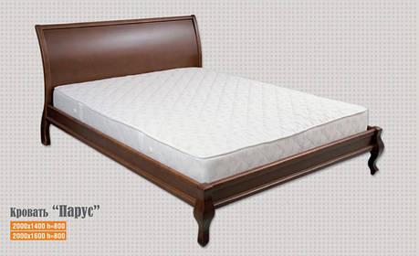 Кровать Парус 0,9 м. (изголовье - Н 1000) (цвет в ассортименте), фото 2