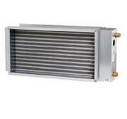 Водяной нагреватель для прямоугольных каналов (3-х рядный) LV-HDTW 400x200/3