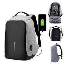 """Рюкзак Bobby с USB 15,6"""" серый"""