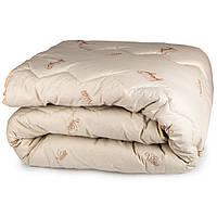 Одеяло Вилюта шерстяное в ранфорсе 140*205 полуторное (400)